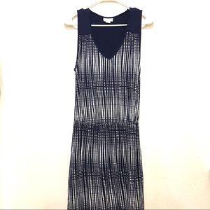 Anthropologie Women's Blue Sleeveless Dress